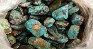 سنگ خام فیروزه نیشابوری